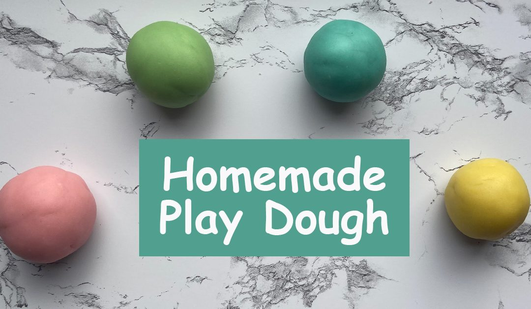 The Easiest Homemade Play Dough Using Just 5 Ingredients