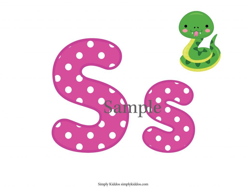 Sample Letter S