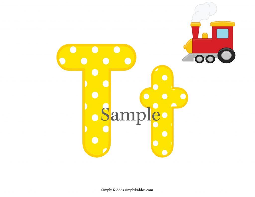 Sample Letter T