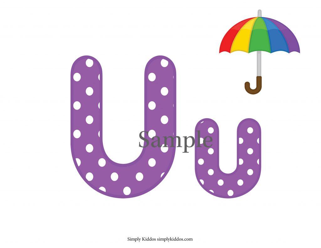 Sample Letter U