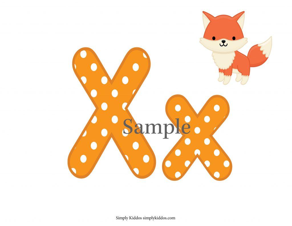 Sample Letter X
